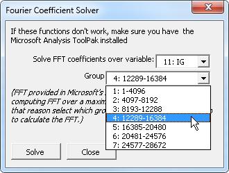 COMTRADE parsing VBA (Excel) code